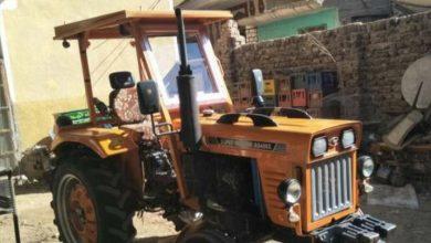 Photo of طفل يقود جرارا بمقطورة فى مدينة الزقازيق