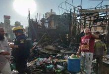 Photo of حريق يدمر أكشاك ومحال تجارية بمحطة مصر بالإسكندرية