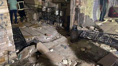 Photo of إنفجار ماسورة غاز في أحد العقارات بمنطقه المعادي