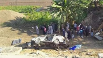 Photo of إنفجار إطار سيارة ينهي حياة أربعة أشخاص بالمنوفية