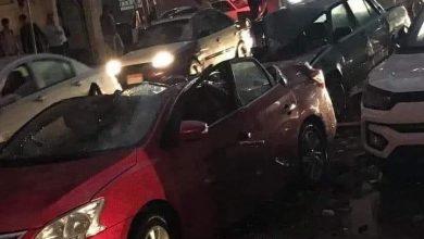 Photo of سقوط سطح بيت في المنصوره بسبب الأمطار العزيزه اليوم