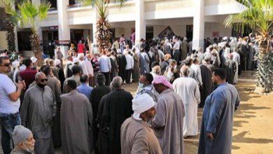 Photo of دائرة بلقاس بالدقهلية تشهد حشود كبيرة من المواطنين للمرة الأولى