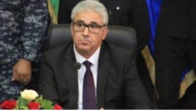 Photo of زياره وزير داخلية حكومة المجلس الرئاسي الليبي فتحي باغاشا لمصر