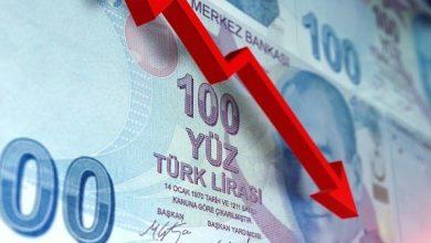 Photo of إستمرار الإنهيار  الإقتصادي  التركى