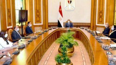 Photo of السيسي : يعقد إجتماع لمتابعه تطوير الأثاث في مصر