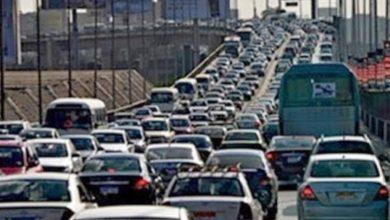 Photo of حادث تصادم ثلاث سيارات بطرق الإسماعيلي الصحراوي وإصابة شخصين