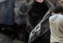 Photo of حادث آليم أدي الي استشهاد مجند وإصابة 19آخرين