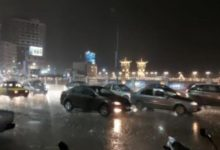 Photo of سقوط الأمطار بغزارة في محافظة الإسكندرية
