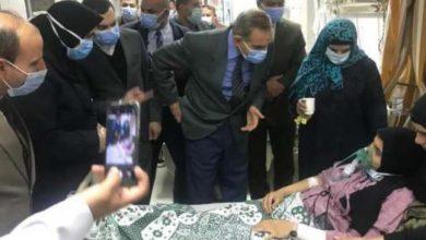 Photo of محافظ كفر الشيخ يتابع الحالة الصحية لمصابي تسريب غاز الكلور
