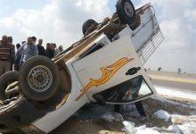 Photo of إصابة شخصين جراء حادث مروري بطريق بنها المنصورة