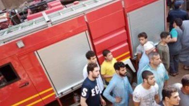 Photo of ماس كهربائي يؤدي لحريق هائل في مستشفي أبو الريش