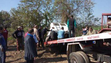 """Photo of إصابة 9 أشخاص أثر إنقلاب السيارة بطريق  """"طنطا تلا """""""