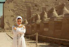 Photo of تحدي فرعوني علي أرض الفراعنة بين فتاة معبد الكرنك وفتاة سقارة