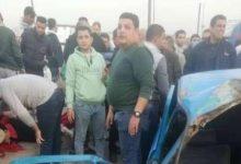 Photo of حادث آليم ادي لوقوع اتوبيس وسيارة ملاكي بالدقهلية