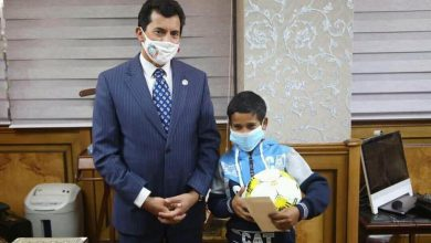"Photo of تكريم "" طفل القاهرة "" من جانب وزير الشباب والرياضة"