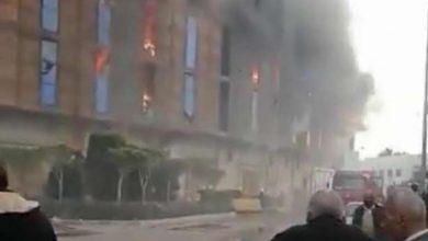 Photo of اشتعال النيران فى مخزن بميناء الاسكندرية