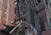 Photo of سقوط عقار قديم بحي الجمرك بالإسكندرية
