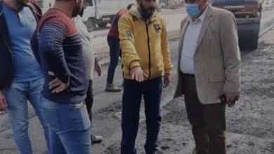 Photo of محافظ الدقهليه يُتابع أعمال الرصف بشوارع شربين