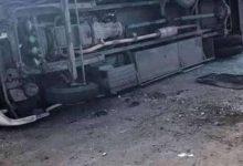 Photo of إصابة 17 طالبا آثر إنقلاب أتوبيس بالدقهلية