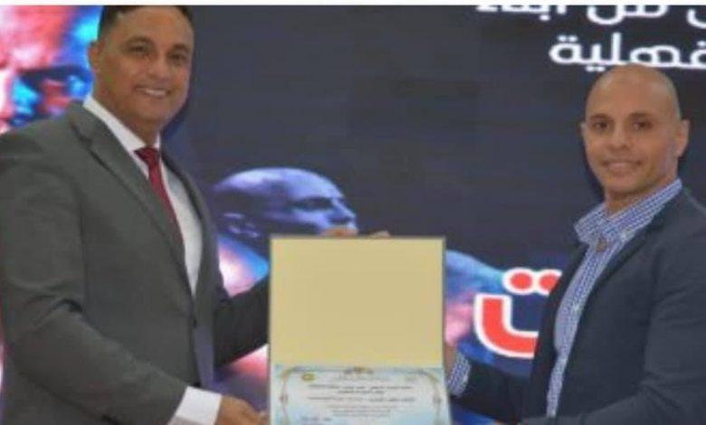 محافظ الدقهلية يكرم العقيد محمد أبو ستيت بطل العالم فى الكيك بوكسينج