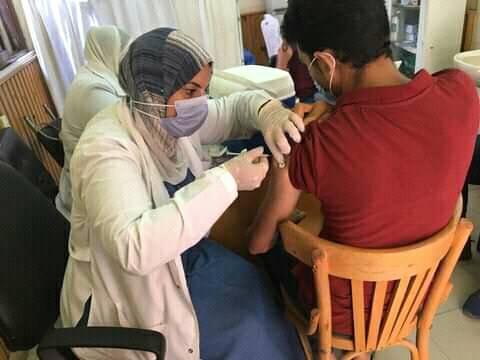 جامعة المنصورة تبدأ المرحلة الثانية لتطعيم الطلاب ضد فيروس كورونا