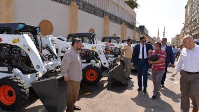 Photo of محافظ الدقهلية يشهد اليوم تسليم الدفعة الثالثة من معدات النظافة وتحسين البيئة
