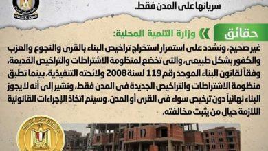 Photo of اعتزام الحكومة إعفاء القرى من تراخيص البناء واقتصار سريانها على المدن فقط