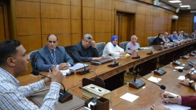 Photo of محافظ الدقهلية يجتمع مع عدد من المسئولين بالمحافظة لمتابعة المشروعات الجارية